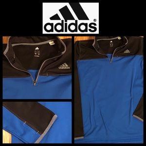 Men's Adidas Half Zip Pullover